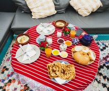 big breakfast in Dar Tabia