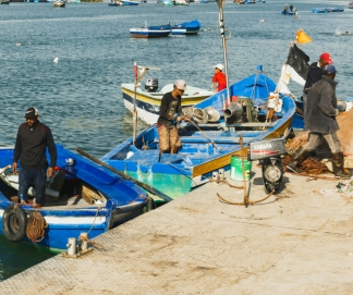 Fishermen in Rabat