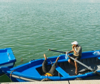 Fishermen in Rabat