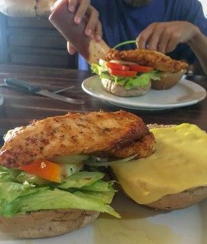 Spicy Chicken Burger