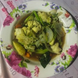 Vegetables Oyster Sauce