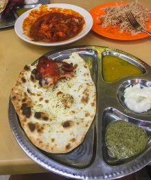 Garlic Naan Set
