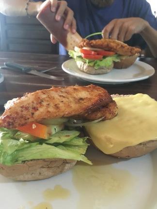 Burger Poulet Épicé