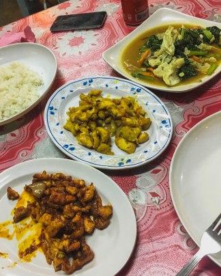 Ayam Kumyit, Sambal & Sayur Campur