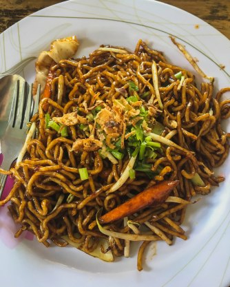 Fried Yellow Noodles Vegetables