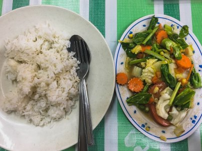 Sayur Campur + Rice
