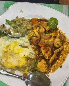 Nasi Goreng Paprik + Egg