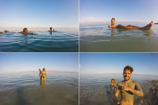 dead sea floatting